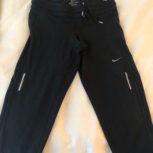 Nike Dri-Fit Capri Tights - Black - Size Small